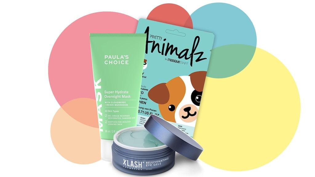 En artikel kommer lastad med härliga produkter för trötta nunor!