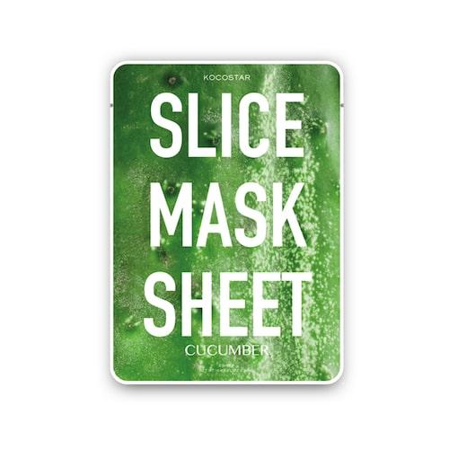 Slice mask sheet cucumber, ser ut som gurkskivor!