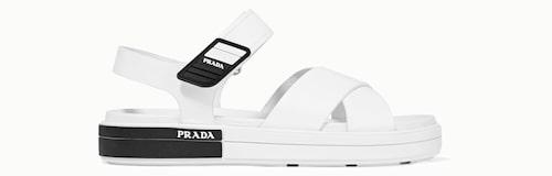 Klumpiga sandaler från Prada.