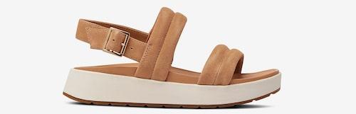 Klumpiga sandaler för dam.