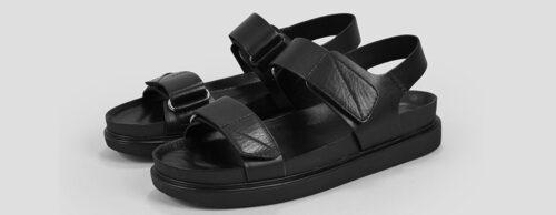 Fotriktiga sandaler från Vagabond.