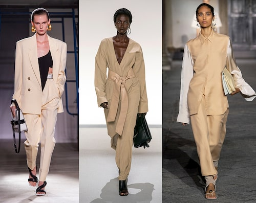Proenza Schouler, Givenchy, Jil Sander SS20.