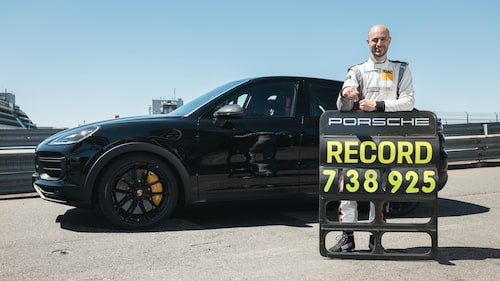 Lars Kern är nöjd med ännu ett rekord runt Nürburgring. Han har satt några genom åren.