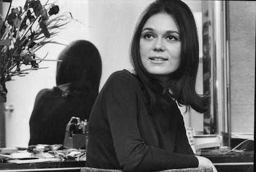 Gloria Steinem, fotograferad 1966.