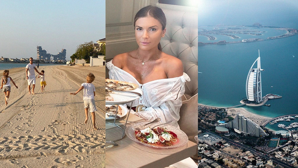 Oksana Wilhelmsson bor med sin familj i Dubai.