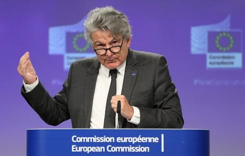 Thierry Breton och hans kollegor i EU-kommissionen säger nej till bilbranschens vädjan.