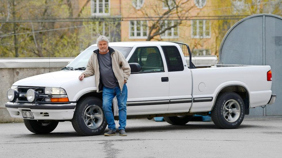 Ganska välbevarad för sin ålder, bilen alltså. Brukar vara lika skäggiga som ägaren.