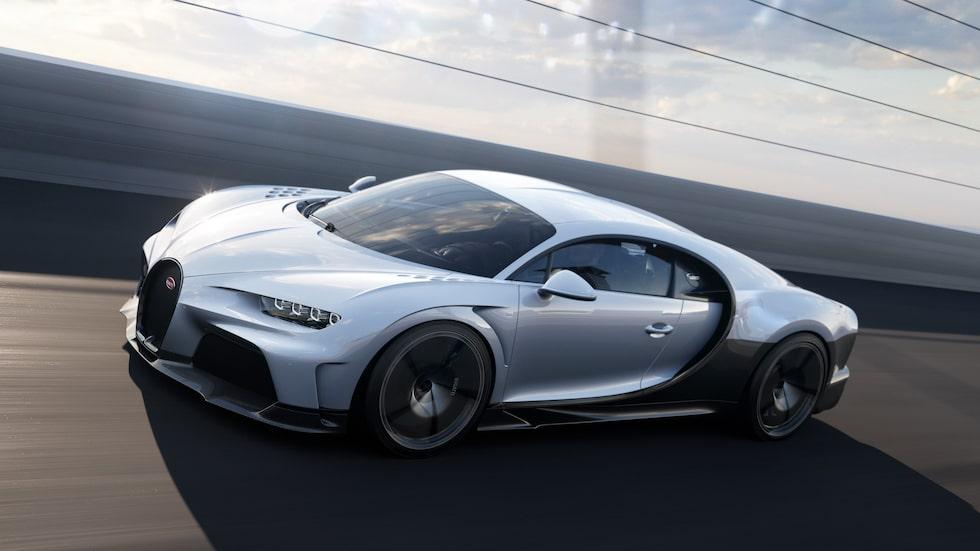Bugatti Chiron Super Sport bjuder bland annat på förlängd bakdel.