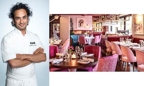 Markus Aujulay driver restaurang Tegelbacken i Stockholm samt Winterviken.