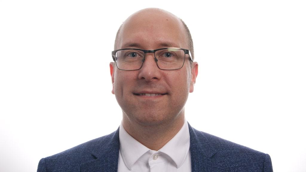 Johan Granholm, bilspecialist på If.