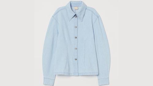Jeansskjorta från H&M.