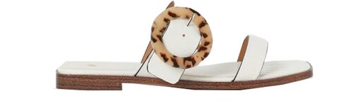 Vita slip in-sandaler från H&M.