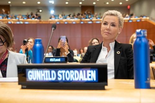 Gunhild Stordalen har en ledande roll inom FN:s Food Systems Summit.