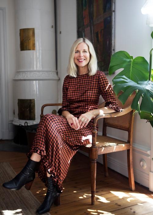 Catarina Midby, generalsekreterare för Swedish Fashion Associations, och tidigare modechef på Damernas Värld.