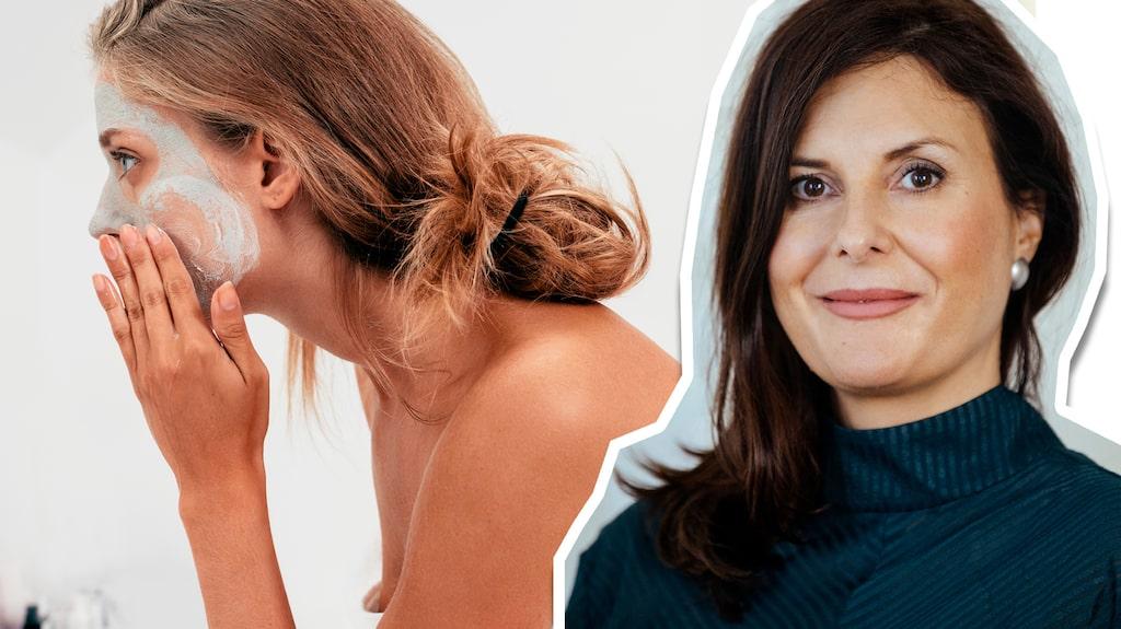 Välj gärna masker som är utvecklade för känslig hy och undvik mycket alkohol, glykoler och konserverings- medel bland ingredienserna, tipsar Johanna Gillbro, forskare och doktor i experimentell dermatologi, som gett ut boken Hudbibeln.