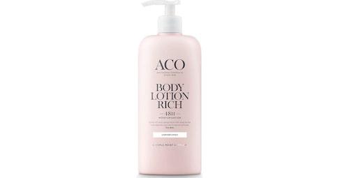 Recension på Body lotion rich oparfymerad från Aco.