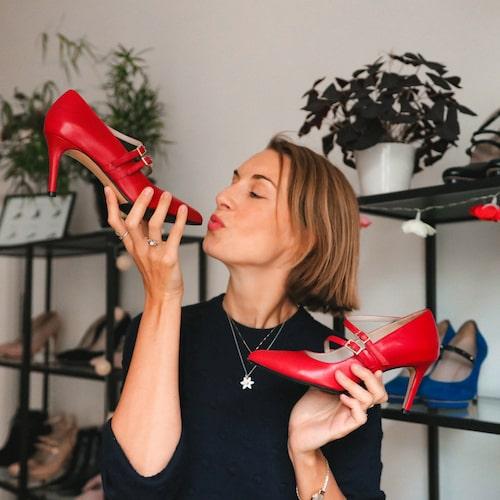 """""""Jag älskar skor!"""""""