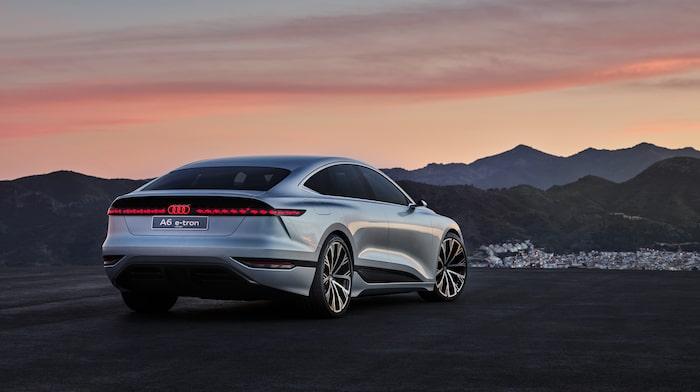 """A6 e-tron concept är snarare en Audi A7, då en """"A6 Sportback"""" inte finns i dag."""