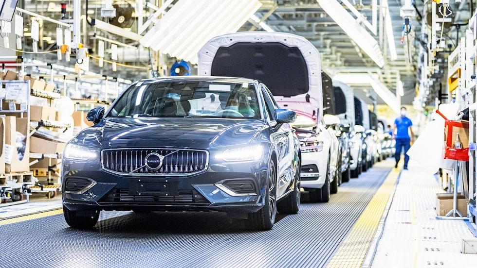 Tillverkning i fabriken i kinesiska Daqing som inom kort helt ska övergå i Volvos ägo.