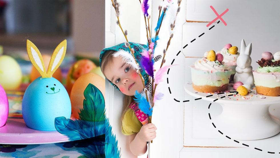 I år ska vi ha den mysigaste påsken någonsin – trots corona!