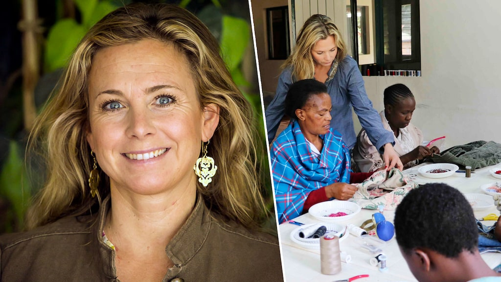 Olyckan fick Aimée att lämna Paris modevärld för ett nytt liv i Nairobi.