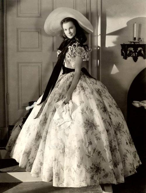 Vivien Leigh som Scarlett i den ikoniska filmatiseringen av boken.