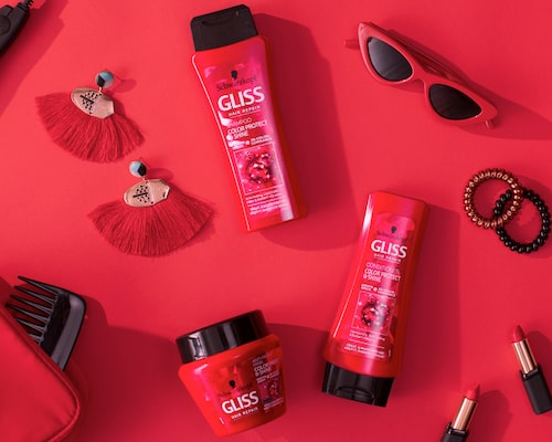 Se till att hårfärgen håller länge! Color Protect & Shine ger din färgning optimala förutsättningar.