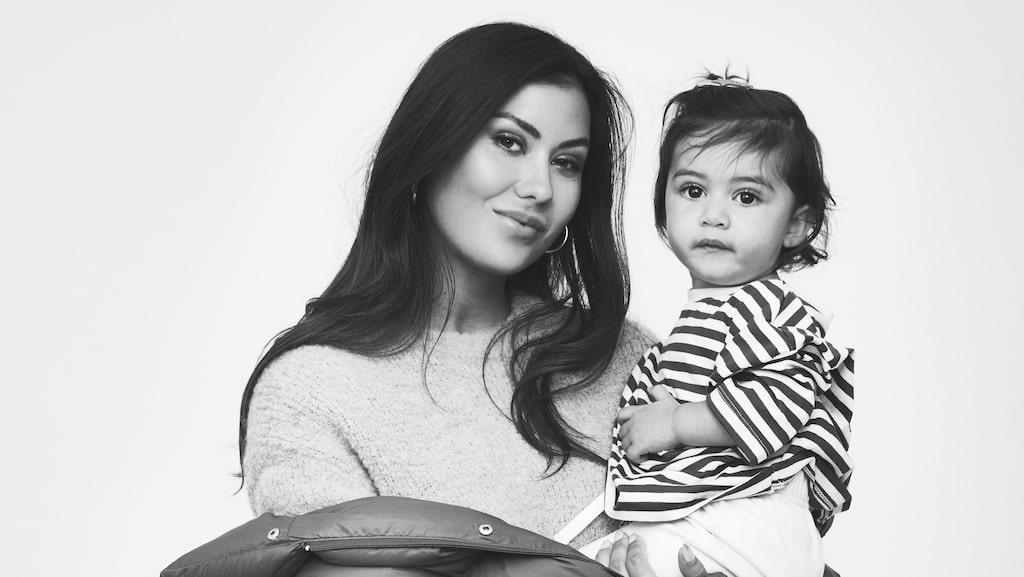 Dani Pavlica, mamma till Vienna, 1,5, väntar sitt andra barn i april 2021.