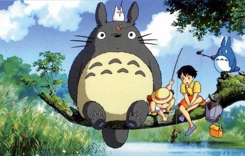 Min granne Totoro.