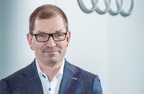 Audis vd Markus Duesmann.