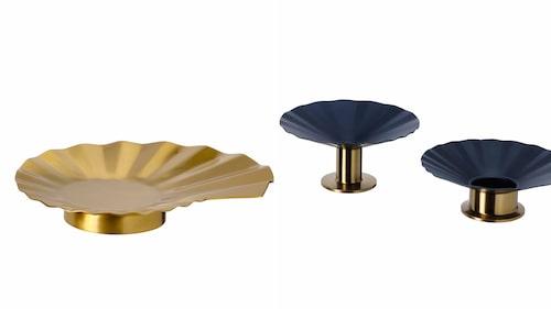 Ljushållare Karismatisk, Zandra Rhodes för Ikea.