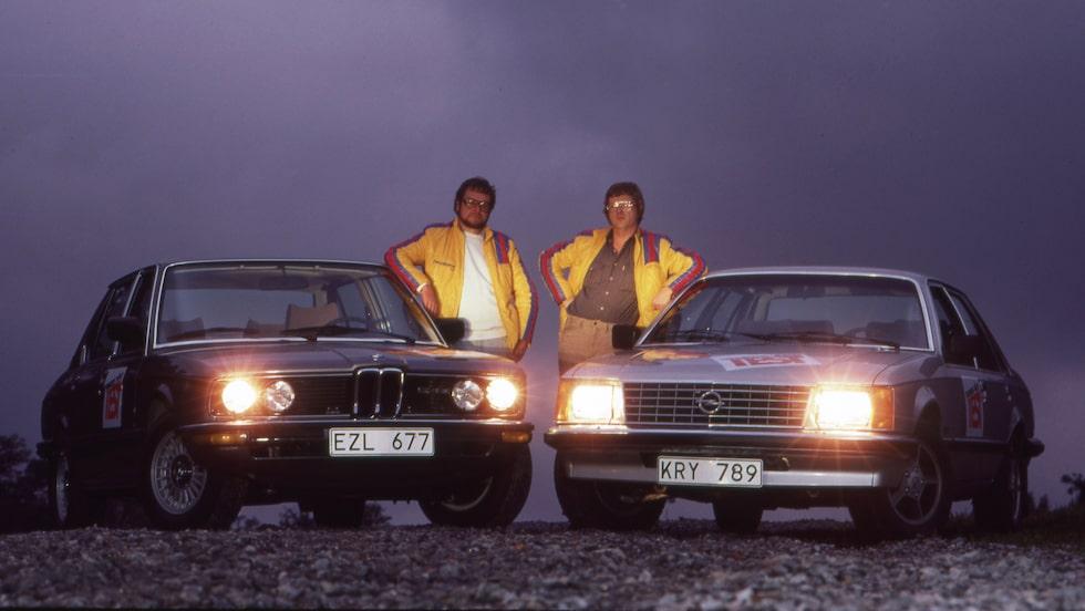 En registreringsplåt med halvsanning. Opeln finns förvisso kvar i registret men senaste godkända besiktning gjordes hösten 2001.