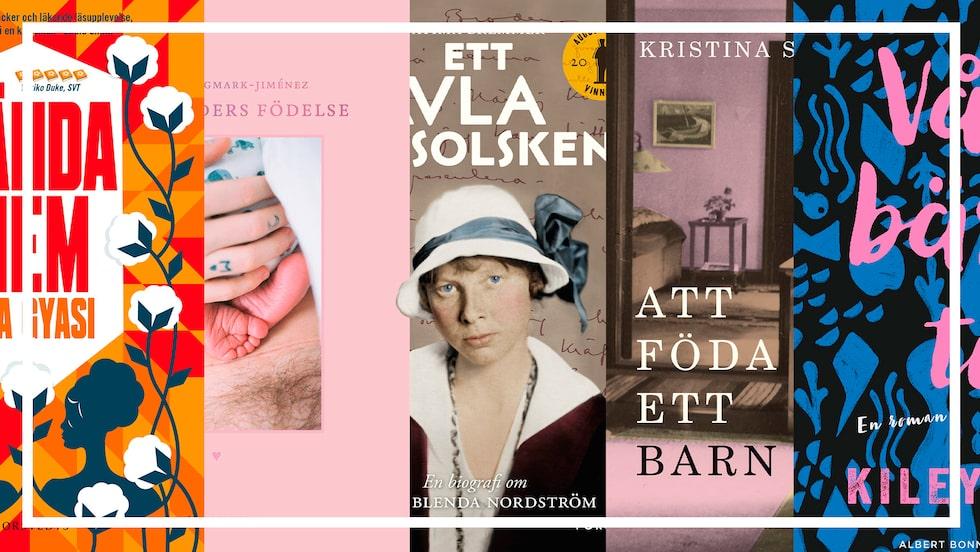 Sugen på att läsa en bok i sommar? Här kommer fem boktips från mama.