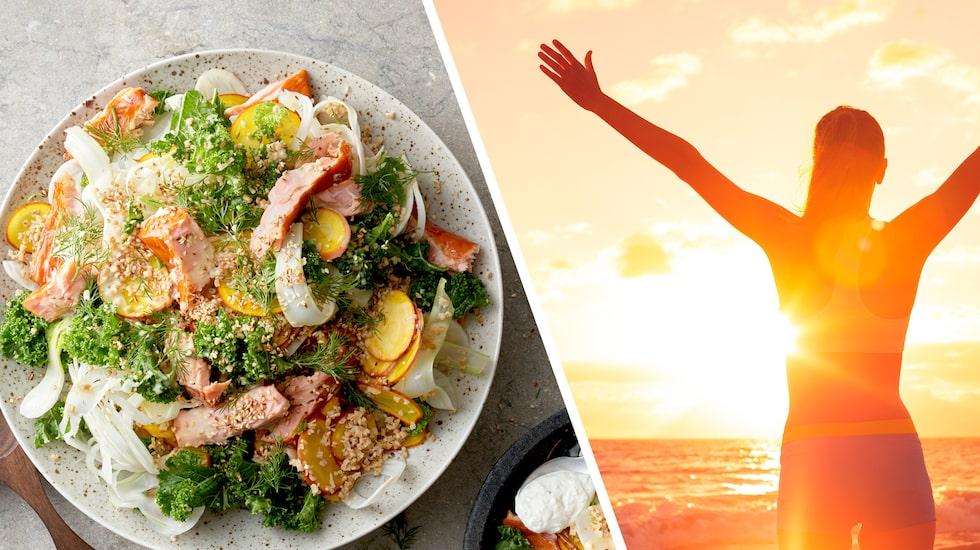 Grönsaker hackade i rejäla bitar – så börjar en bra måltid, enligt förespråkarna av den Okinordiska kosten.