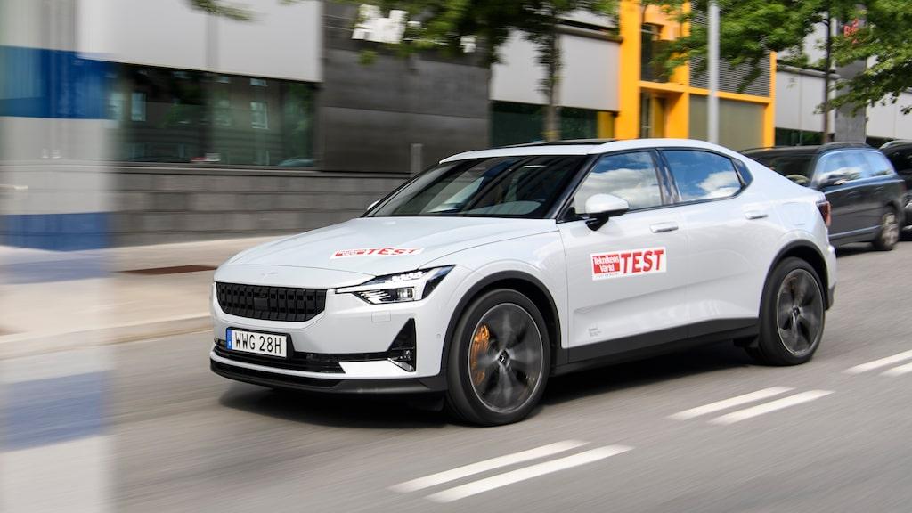 Polestar 2 – en av 29 bilar som kan bli Car of the Year i Europa 2021.
