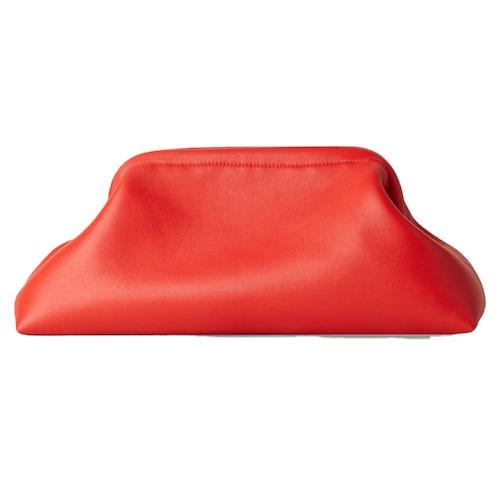 Röd handväska från Cos.