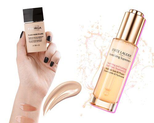 Foundation från Filorga och olja från Estée Lauder får högsta betyg av vår skönhetsredaktör.