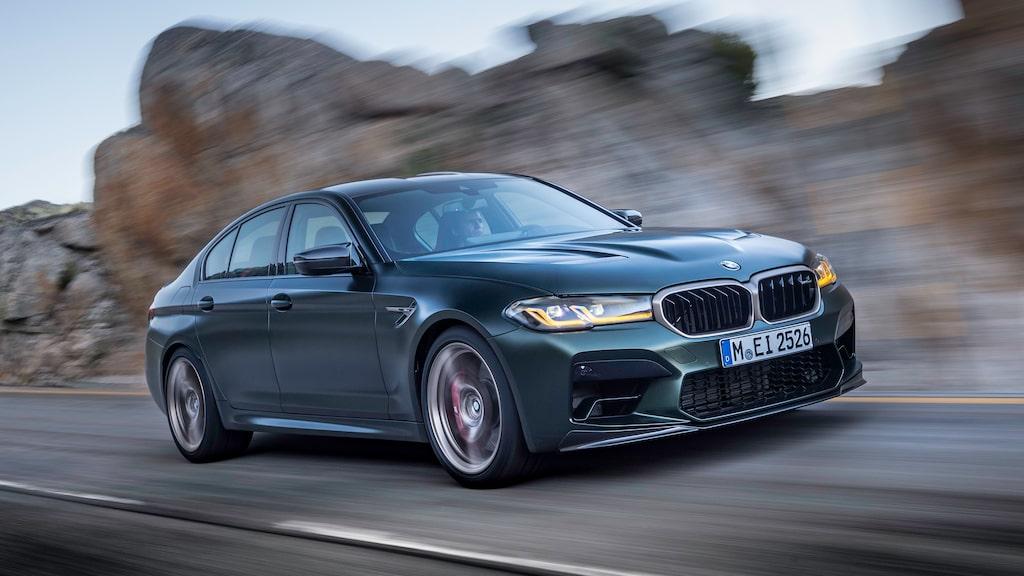 BMW M5 CS ska produceras i begränsad upplagda under ett år. Hur många exemplar det betyder är okänt.