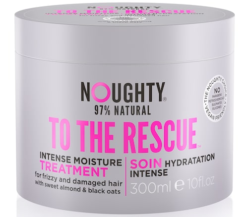 To the rescue intense moisture treatment, Noughty. Klicka på bilden och kom direkt till produkten.