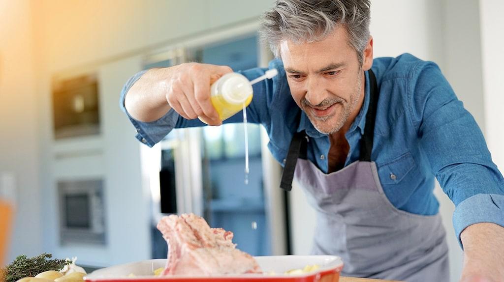 """""""Min man lagar bara onyttig mat"""", skriver läsaren """"Matglad""""."""