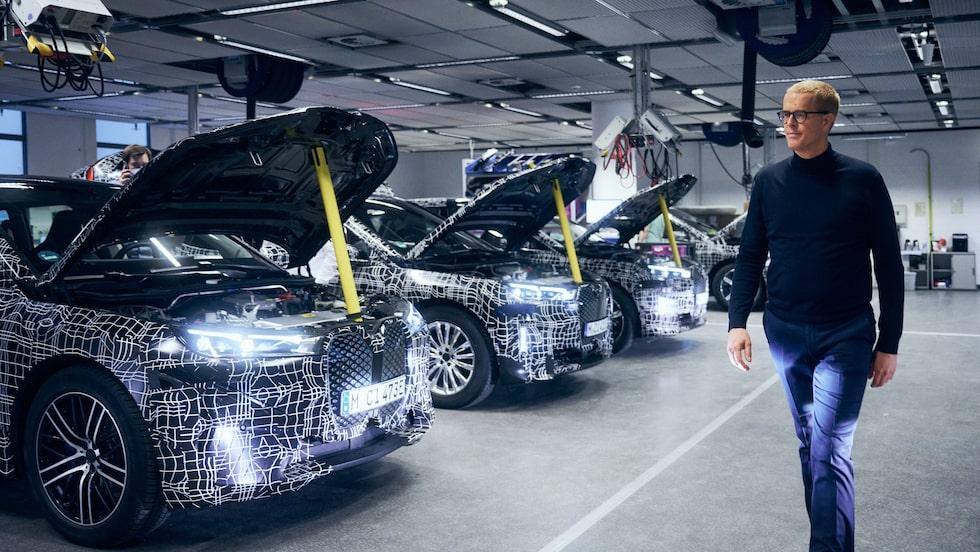 Frank Weber sitter i BMW AG:s styrelse och har ansvar för företagets utveckling.
