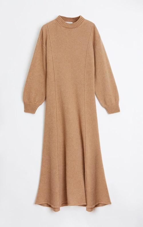 Midiklänning med liten krage från Rodebjer.
