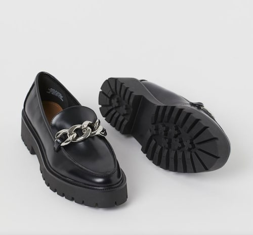 Chunky loafers från H&M.