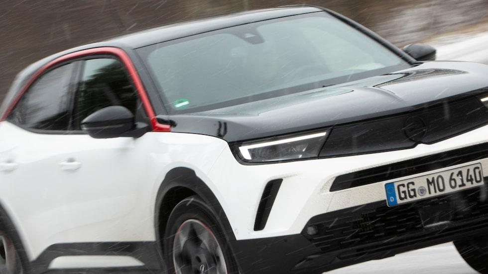 Nya Opel Mokka. Nya Astra kommer att anamma en del av designen som Mokka bär på.