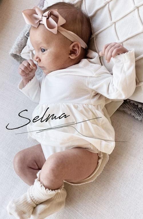 Lilla Selma är mest lik mamma.
