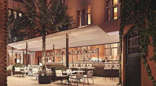 Hotell Villa Dagmar öppnar den 16 maj, och ligger på Östermalm, Stockholm.