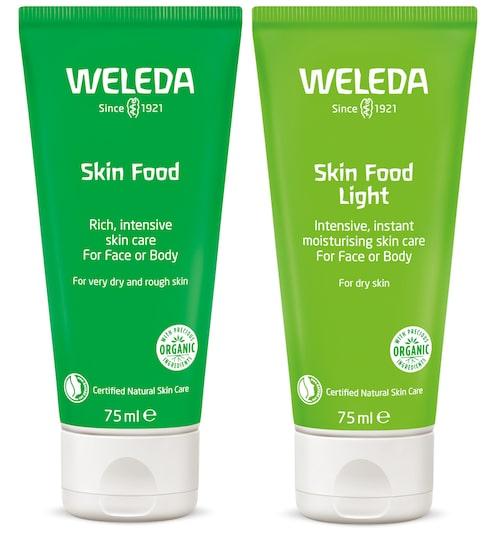 Skin Food finns även i en lightversion, som har en lättare formula.