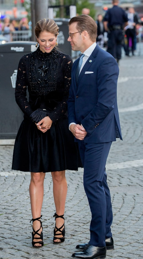Med Prins Daniel vid Riksdagens öppnande, 2016.