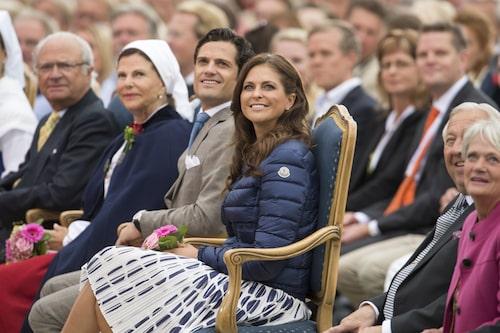 Prinsessan Madeleine närvarar vid Victoriadagen på Öland, 2012.