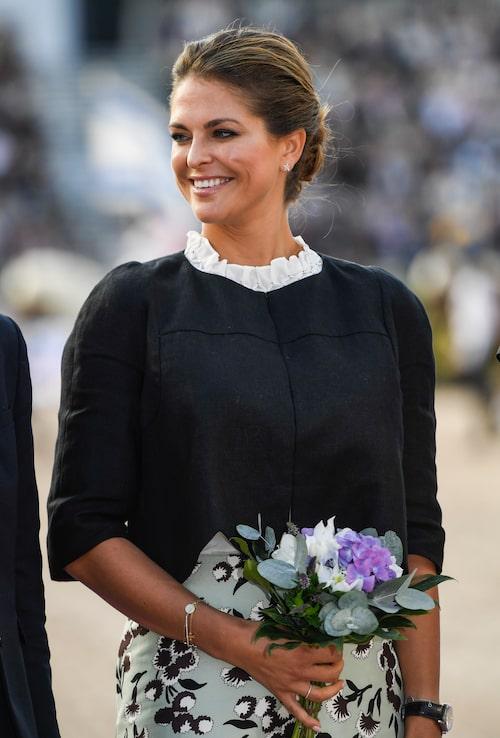 Prinsessan Madeleine inviger EM i ridsport på Ullevi, 2017.